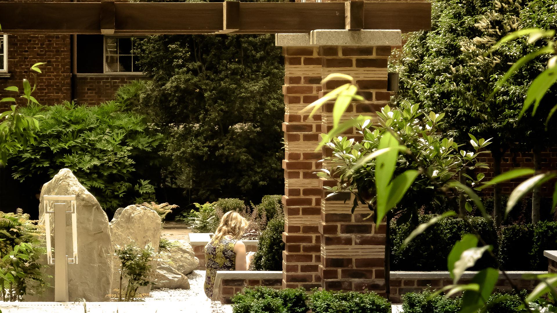 Awesome School Of Garden Design Festooning - Brown Nature Garden ...