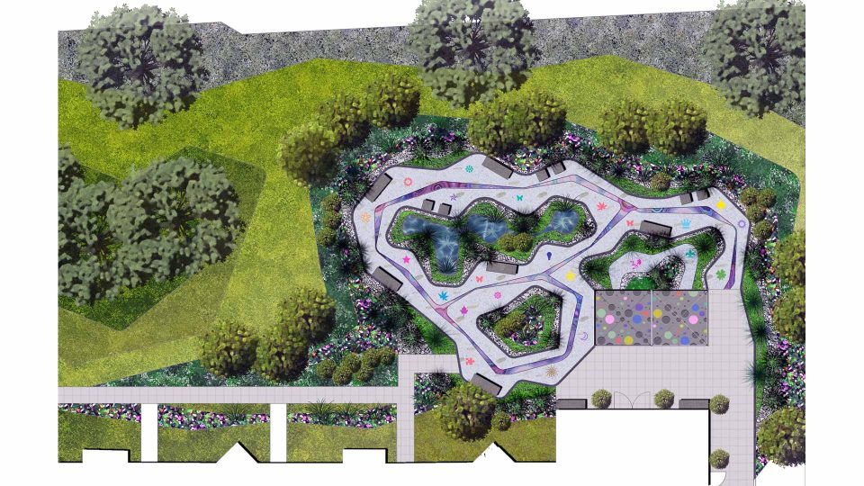 Sensory garden design concept landscape architects for Sensory garden designs