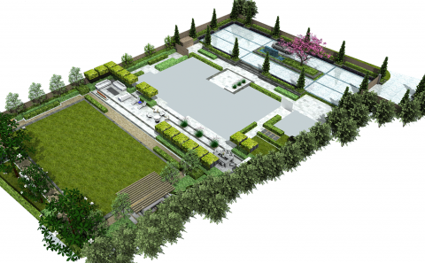 House Landscape Design