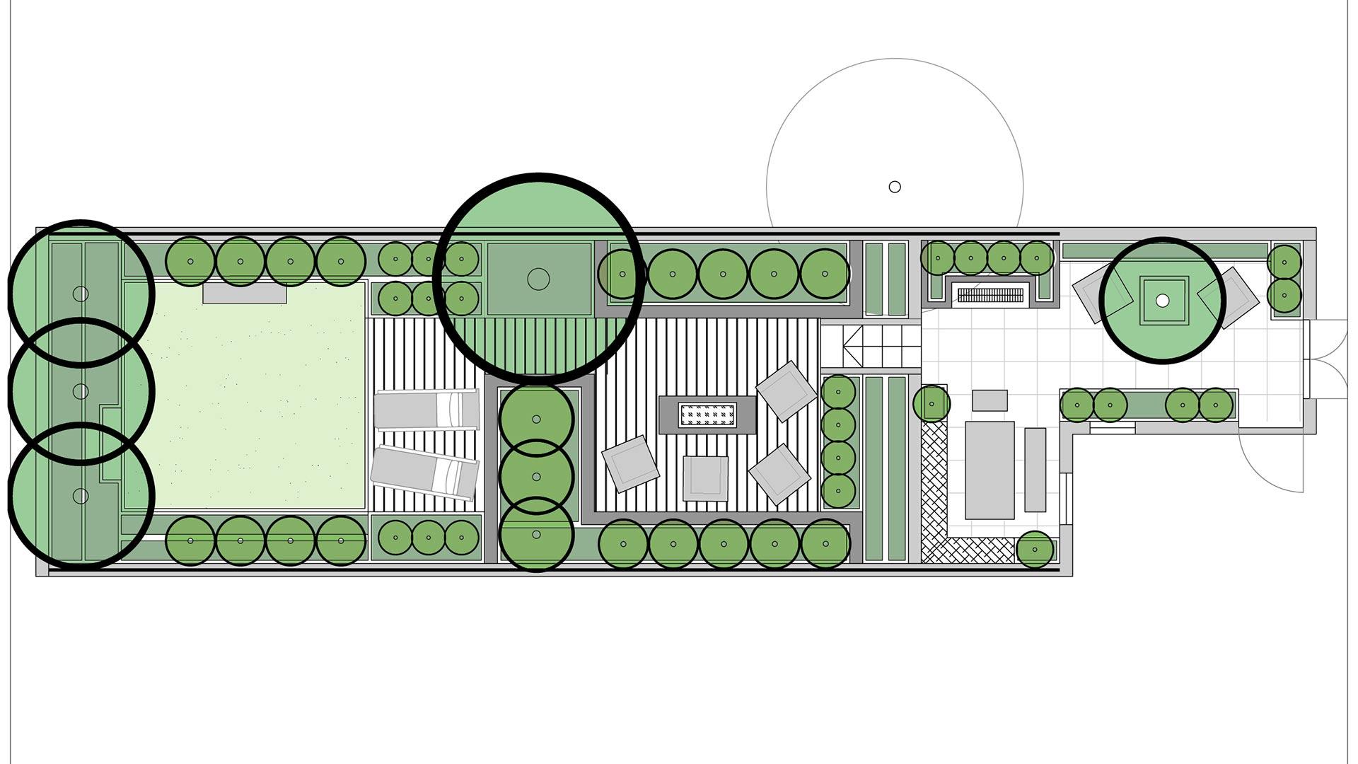 Residential garden design concept landscape architects for Residential garden design