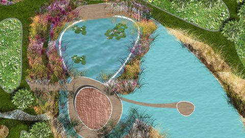 Lakehouse Landscape Design