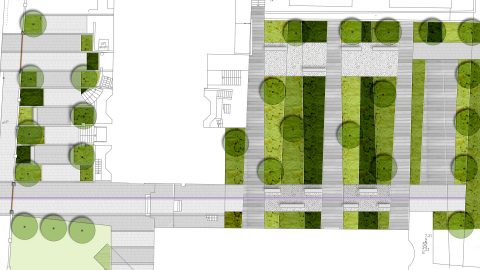 school landscape design