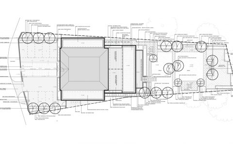 Residential landscape layout planning