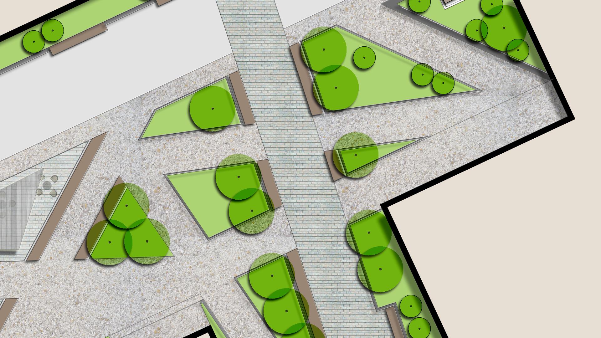 School campus design concept landscape architects urban for School landscape design