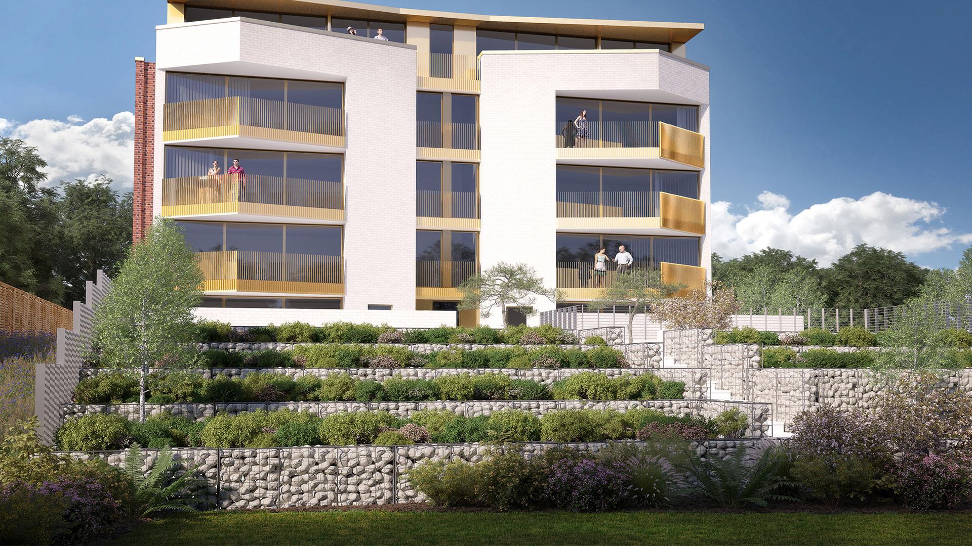 Highgate Apartments Concept Landscape Architects Urban