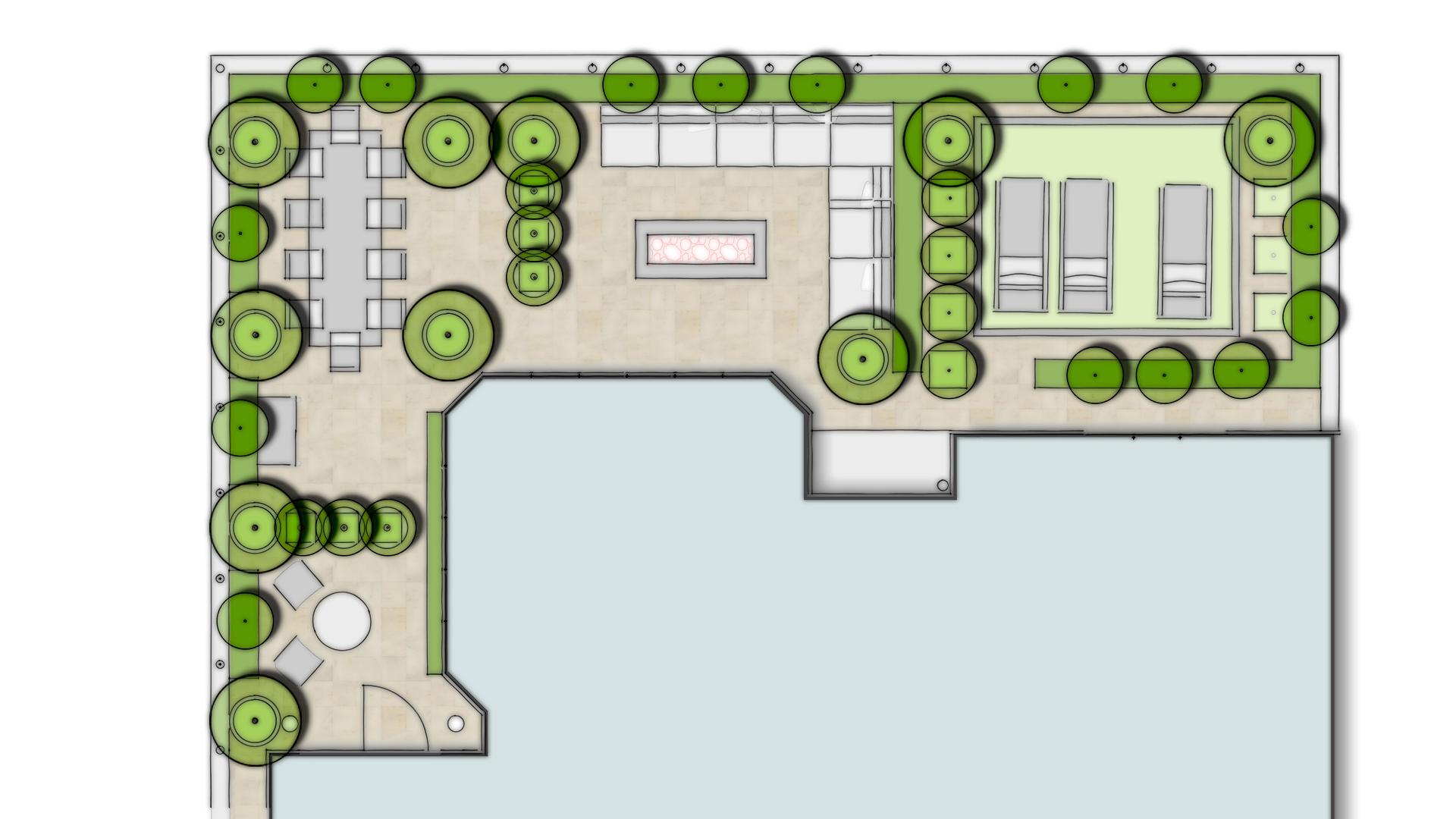 Roof Terrace Garden Design • CONCEPT Landscape Architects ...