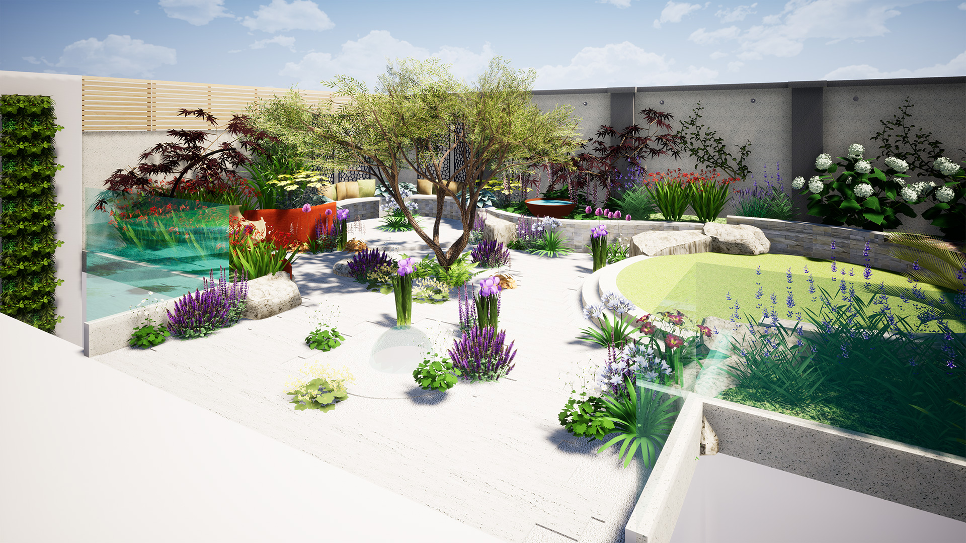 Hackney Garden Design • CONCEPT Landscape Architects ...