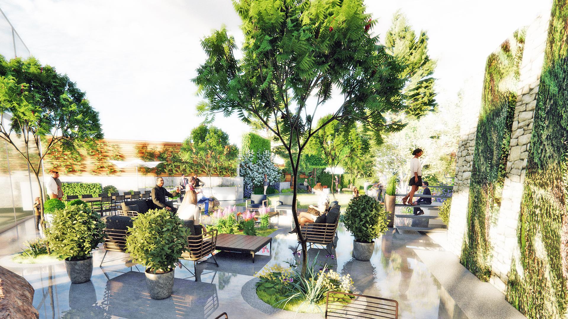 North London Garden • CONCEPT Landscape Architects, Urban ...